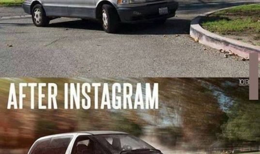 Before & After Instagram