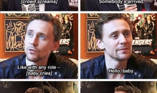 Tom Hiddleston – YES!