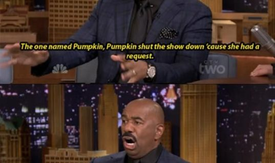 Steve Harvey is hilarious!