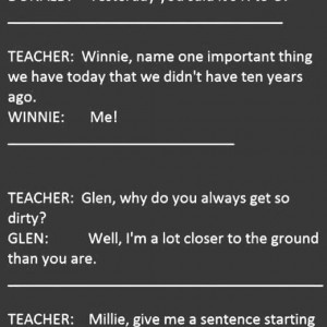 Kids vs Teacher