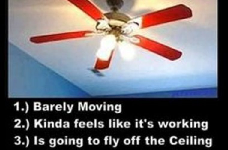 Ceiling Fan Accident