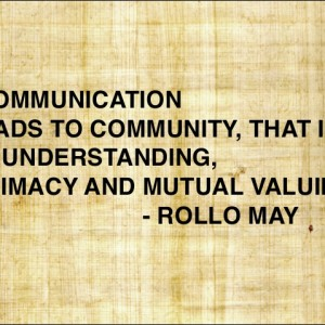 Communication Leads To