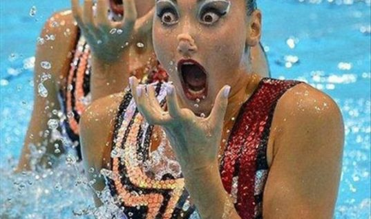 Funny Swimmers