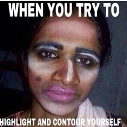 Highlight Makeup | Funny Pictures, Quotes, Memes, Funny ...