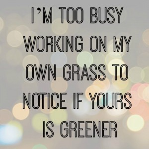 My Own Grass