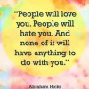 People Will Hate