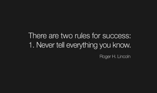 Rues For Success