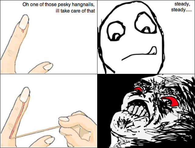 Nail Comic nail comic funny pictures, quotes, memes, funny images, funny