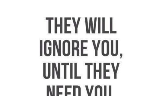 They Need You