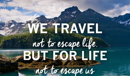 Travel To Escape