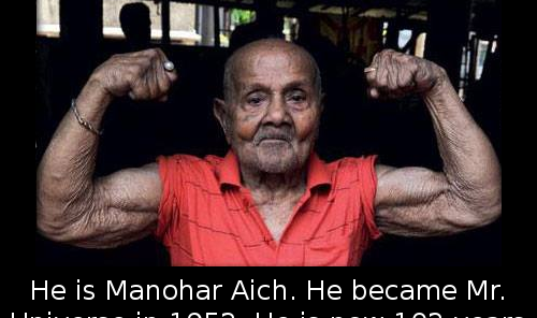 He is Manohar Aich