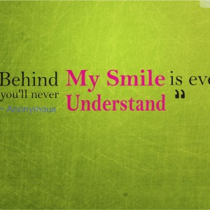 Behind My Smile