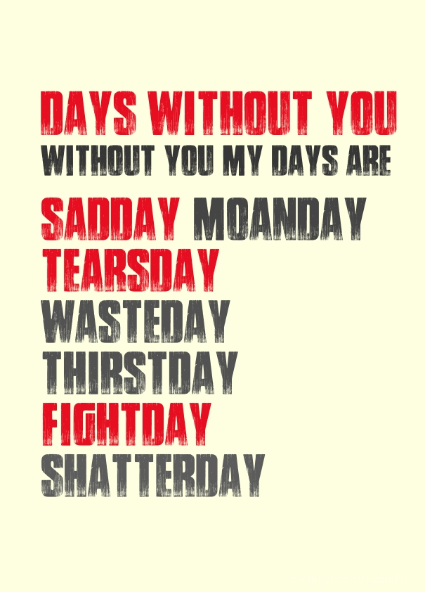 Days Without You