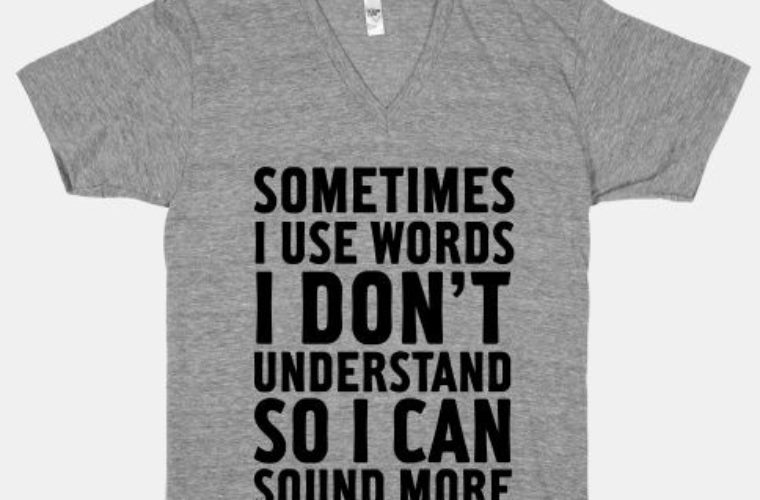 I Use Words