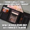 I Found a Wallet Today