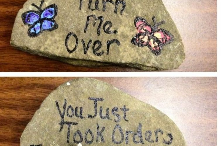 Orders From A Rock