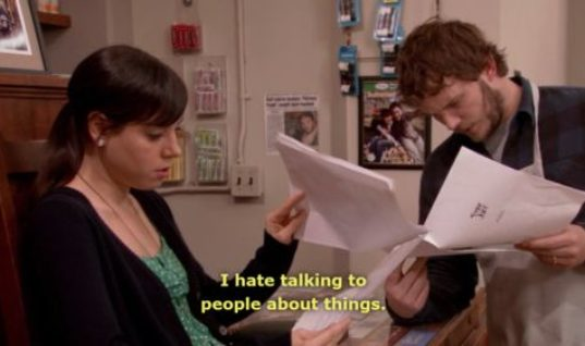 Talking to People