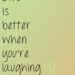 When You Laugh