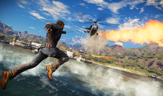 Just Cause 3 Looks Epic In This 360 Degree Panoramic Video