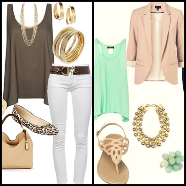 fashionable outfit combination