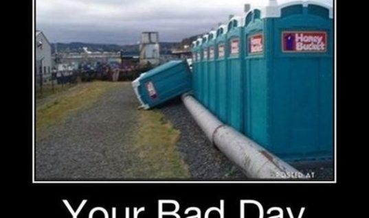 Bad Toilet Day