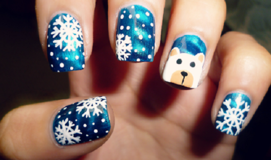 5 Christmas Nail Art Designs to Remember