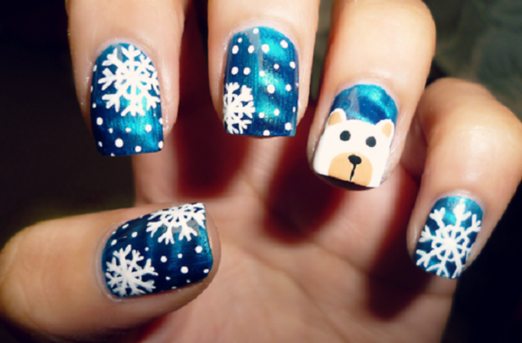 5 Christmas Nail Art Designs to Remember | Funny Pictures, Quotes ...