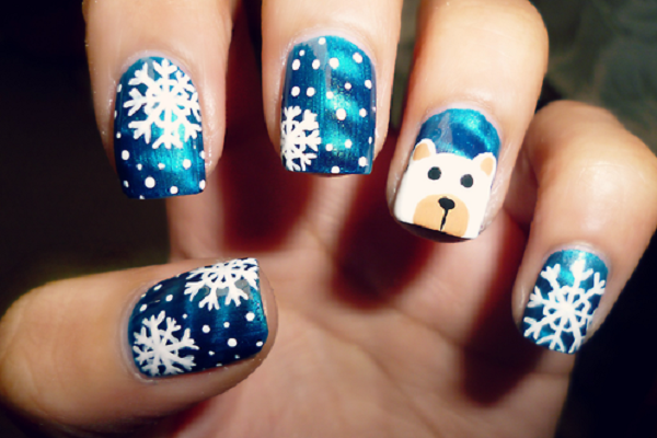 5 Christmas Nail Art Designs To Remember Funny Pictures Quotes