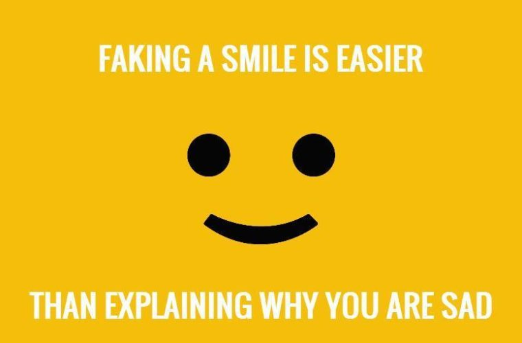 Faking A Smile
