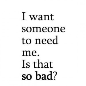 I Want Someone