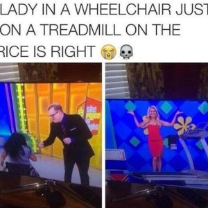 Lady In A Wheelchair
