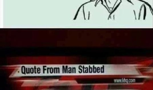 Stabbed Man
