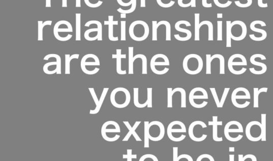The Greatest Relationships