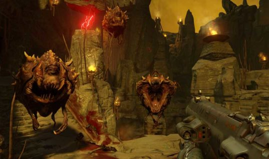 DOOM Closed Alpha Sign Ups For PS4