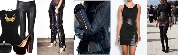 hottest trends- leather