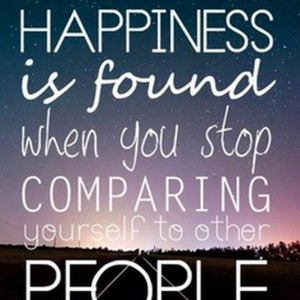 Happiness Is Found