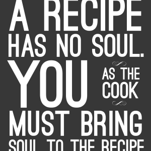 Bring Soul To The Recipe