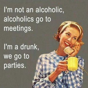 Drunks Go to Parties