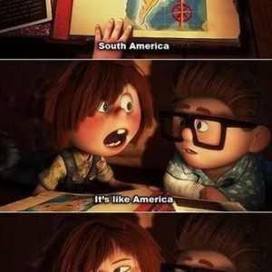 South America Up Movie