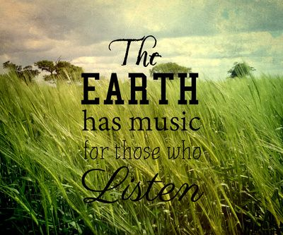 The Music Of The Earth