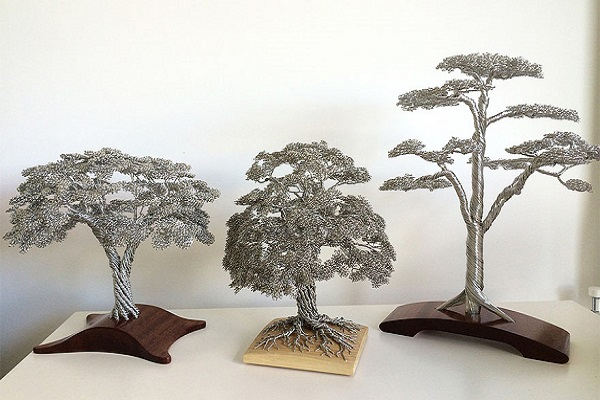 Tree Sculptures by Clive Maddison