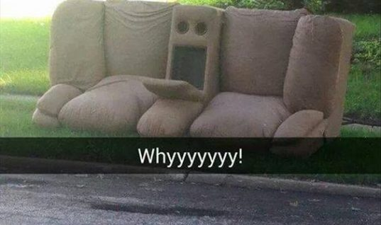 Wondering Couch