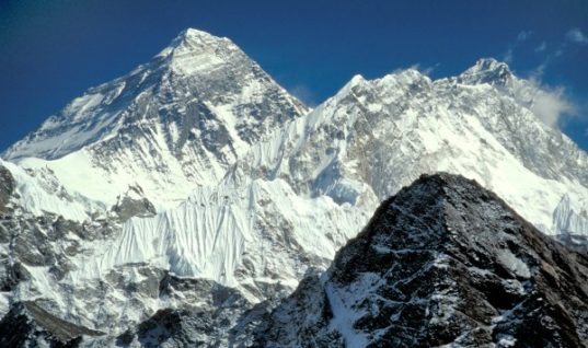 Mount Everest: The Highest Point on Earth