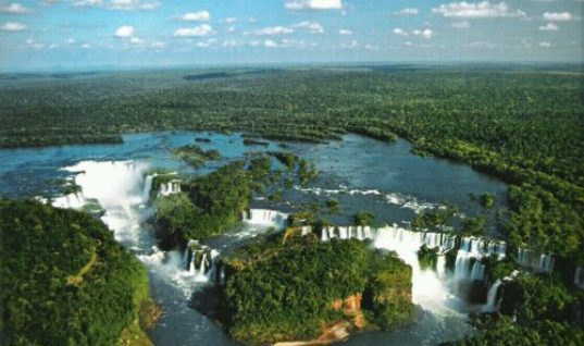 The Iguazu Waterfalls Argentina – Brazil