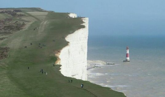 The White Cliffs of Dover Chalk Formation