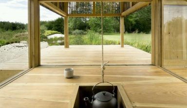 Black Teahouse by A1Architects