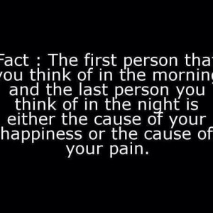 Cause Of Your Happiness Or Pain