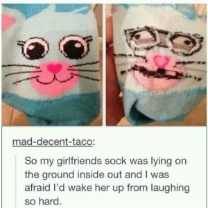 Girlfriends Bunny Sock