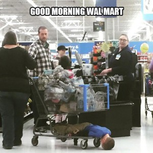 Good Morning Wal Mart