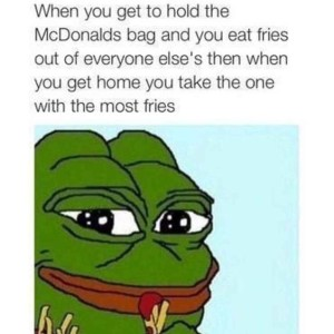 Hold The Fries Bag